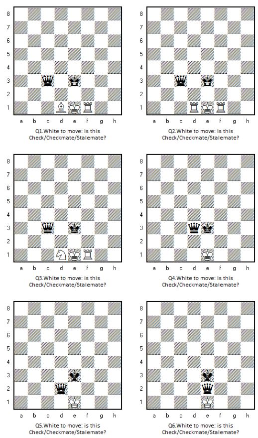 quiz  stalemate  check or checkmate